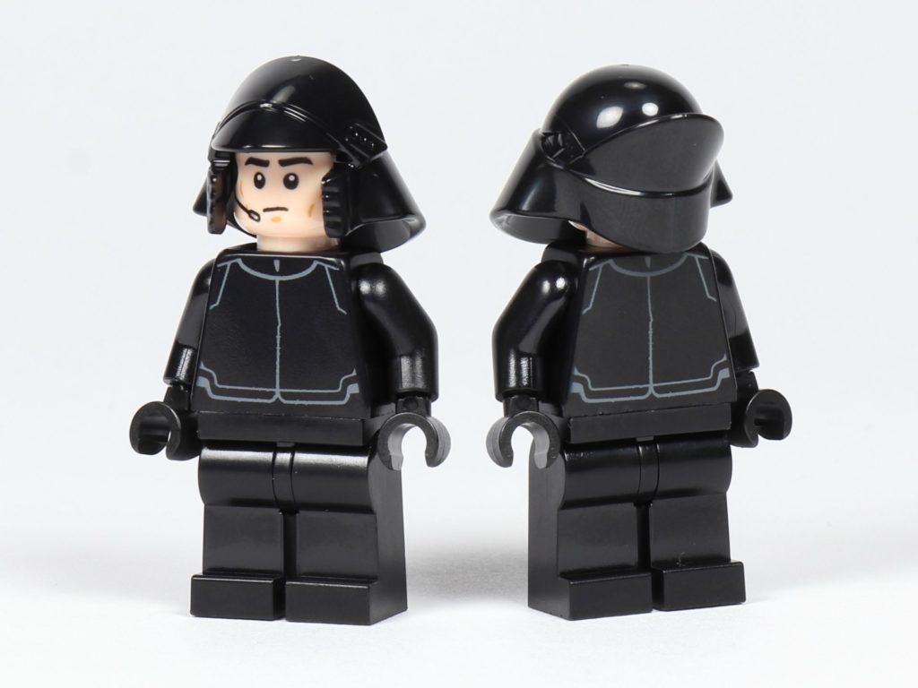 LEGO® Star Wars™ 75197 First Order Shuttlepilot und Schütze, Vorderseite schräg | ©2019 Brickzeit