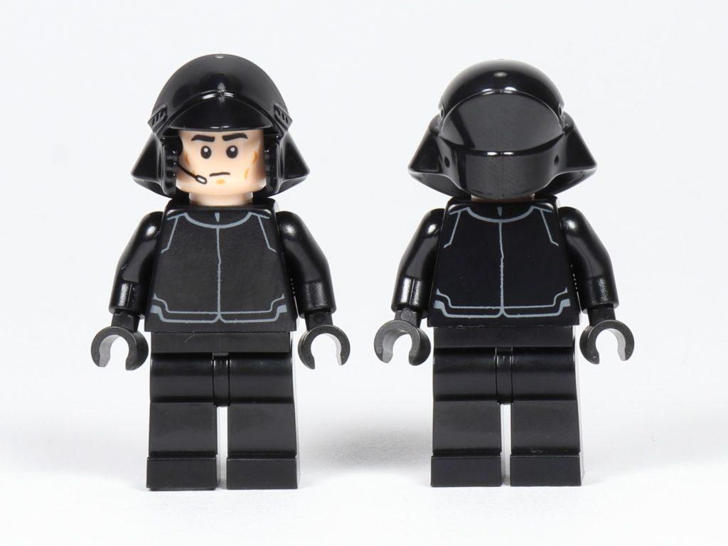 LEGO® Star Wars™ 75197 First Order Shuttlepilot und Schütze, Vorderseite | ©2019 Brickzeit