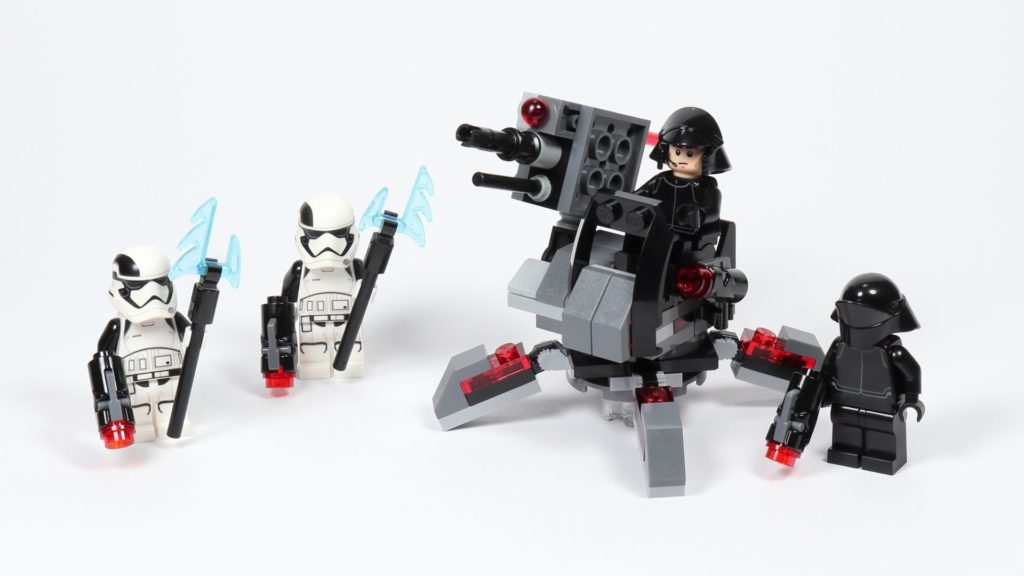 LEGO® Star Wars™ 75197 First Order Specialists Battle Pack | ©2019 Brickzeit