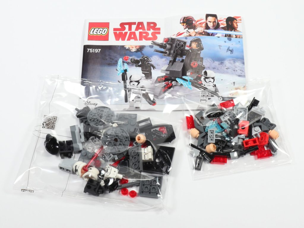 LEGO® Star Wars™ 75197 First Order Specialists Battle Pack - Inhalt | ©2019 Brickzeit