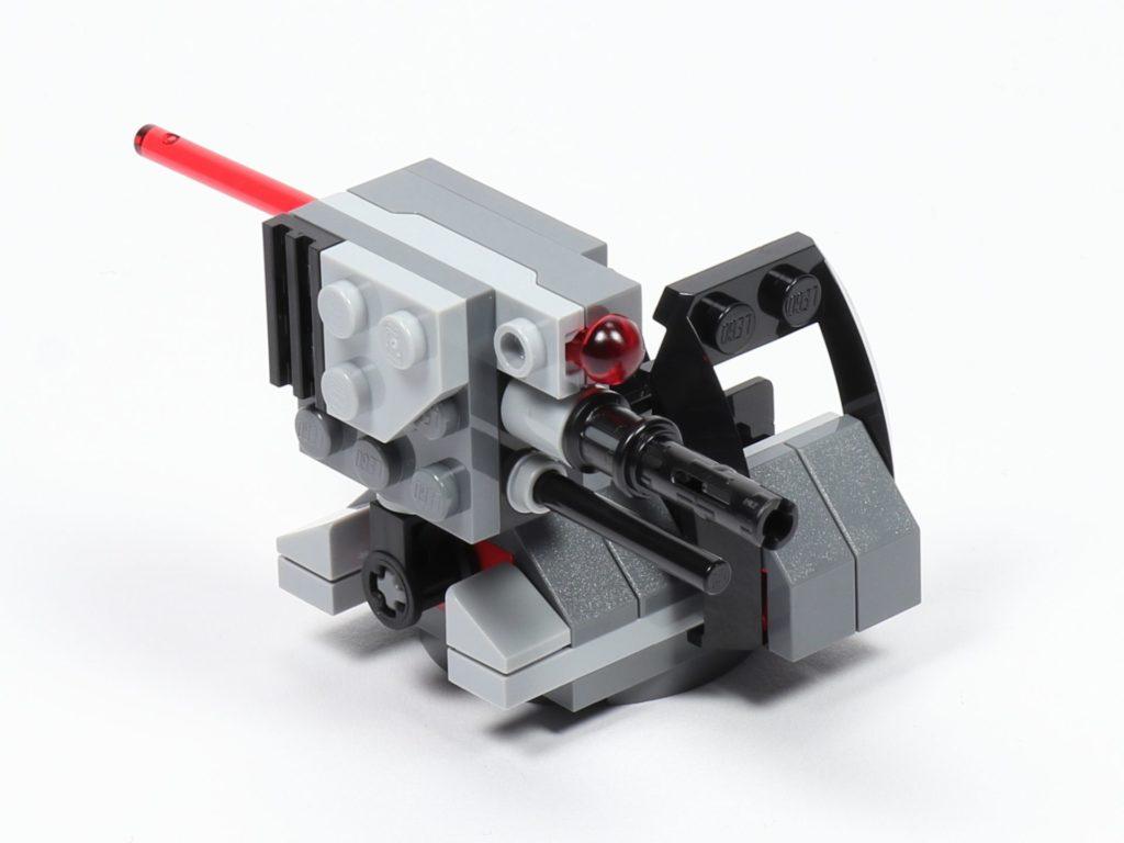LEGO® Star Wars™ 75197 First Order Specialists Battle Pack - Sitz und Shooter - vorne, rechts | ©2019 Brickzeit
