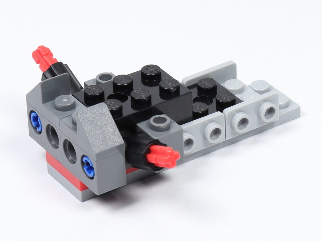 LEGO® Star Wars™ 75226 - Speeder - Erste Bauschritte, hinten rechts | ©2019 Brickzeit