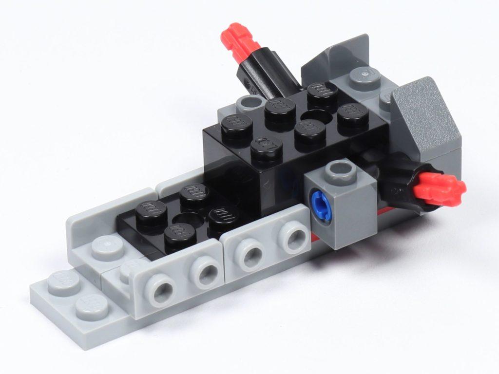 LEGO® Star Wars™ 75226 - Speeder - Erste Bauschritte, vorne links | ©2019 Brickzeit