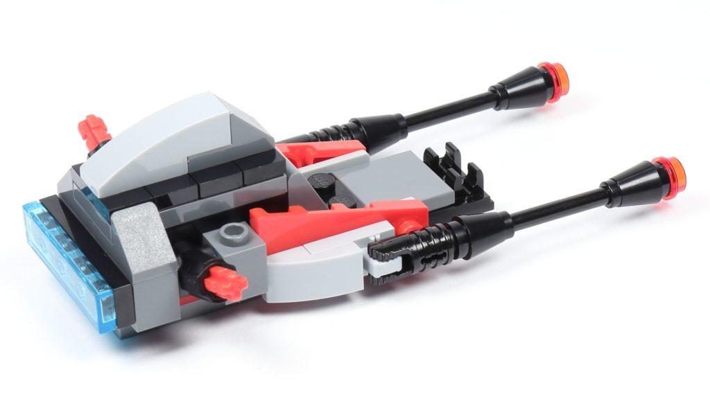 LEGO® Star Wars™ 75226 - Speeder - Rumpf, hinten rechts ohne Frontabdeckung | ©2019 Brickzeit