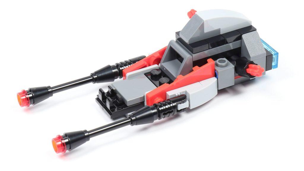 LEGO® Star Wars™ 75226 - Speeder - Rumpf, vorne links ohne Frontabdeckung | ©2019 Brickzeit