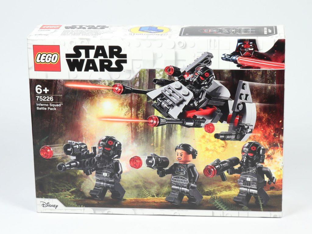 LEGO® Star Wars™ 75226 Inferno Squad Battle Pack - Packung, Vorderseite | ©2019 Brickzeit