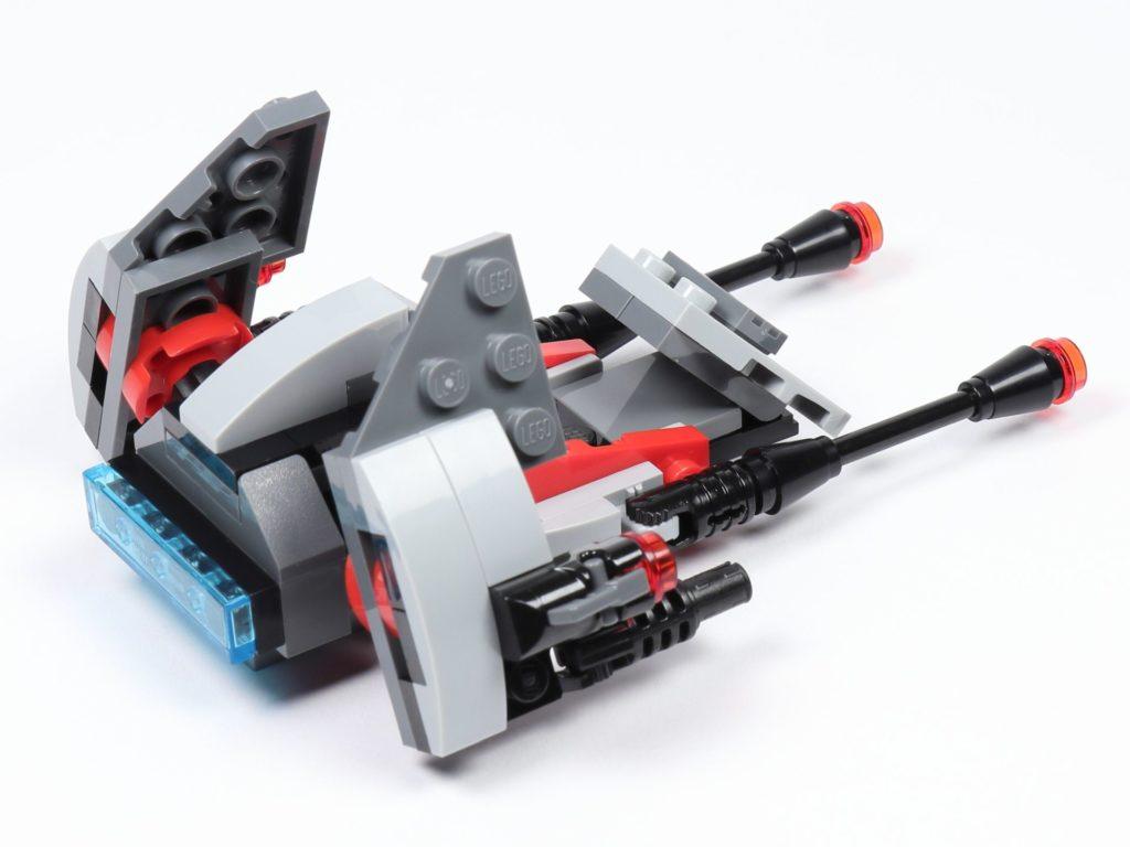 LEGO® Star Wars™ 75226 Inferno Squad Battle Pack - Speeder, Rückseite | ©2019 Brickzeit