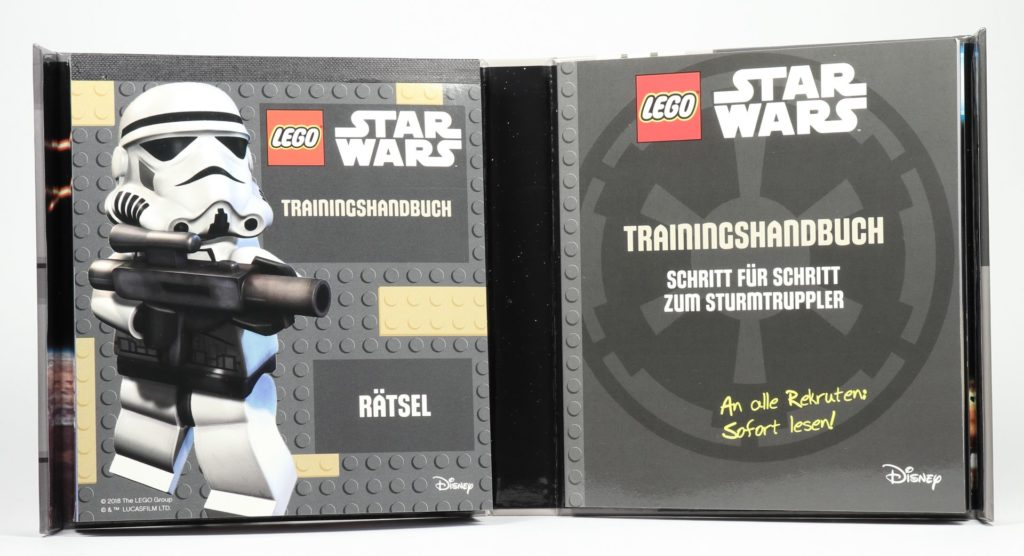 LEGO® Star Wars™ - das ultimative Trainingshandbuch - Box Innenseite | ©2019 Brickzeit