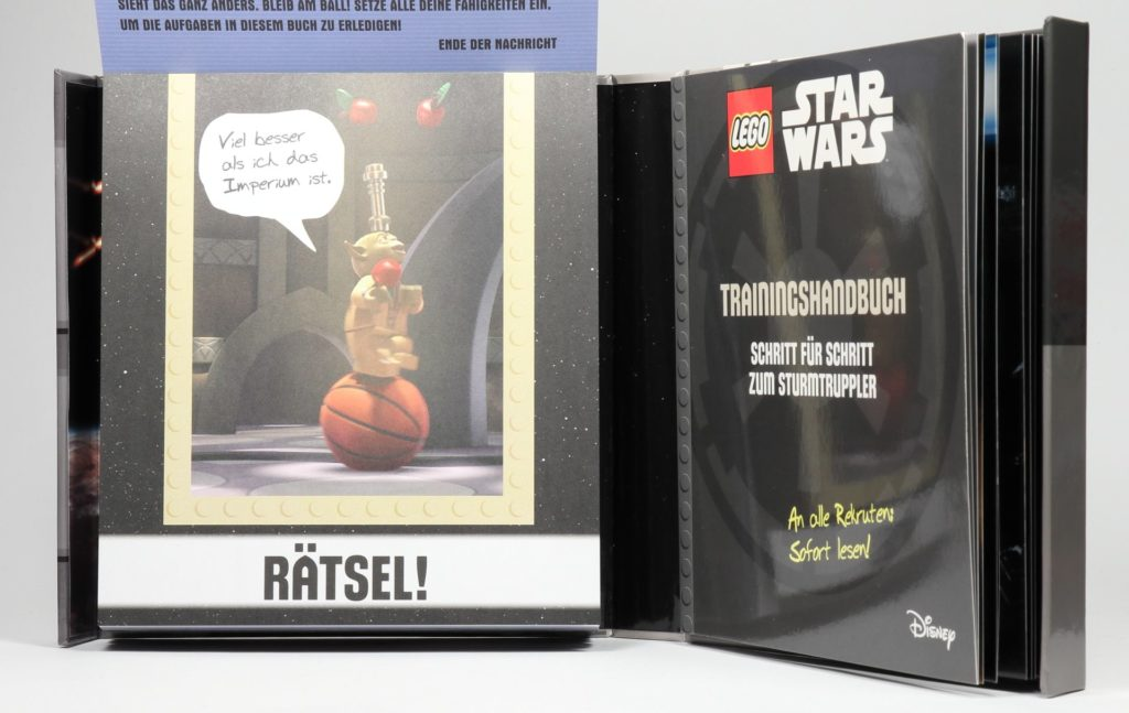 LEGO® Star Wars™ - das ultimative Trainingshandbuch - Blick in Rätselheft | ©2019 Brickzeit