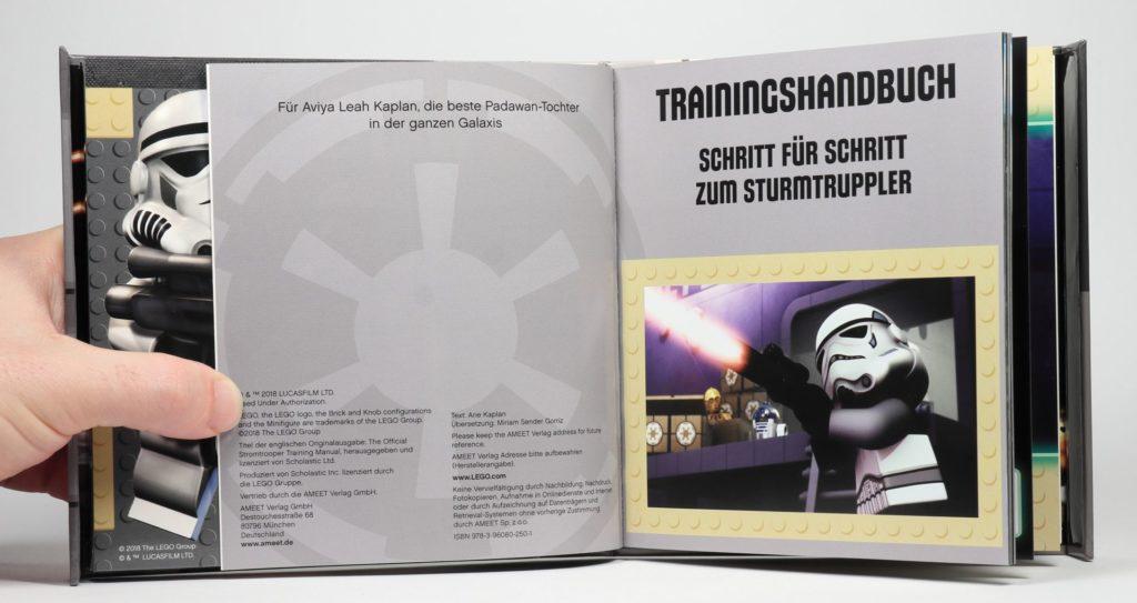 LEGO® Star Wars™ - das ultimative Trainingshandbuch - Blick in Trainingsbuch   ©2019 Brickzeit