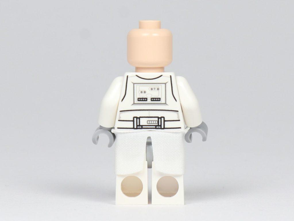 LEGO® Star Wars™ - das ultimative Trainingshandbuch - Snowtrooper ohne Helm, Rückseite | ©2019 Brickzeit