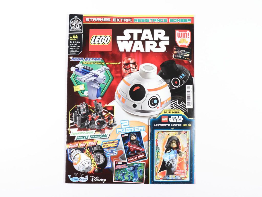 LEGO® Star Wars™ Magazin Nr. 44 - Cover | ©2019 Brickzeit