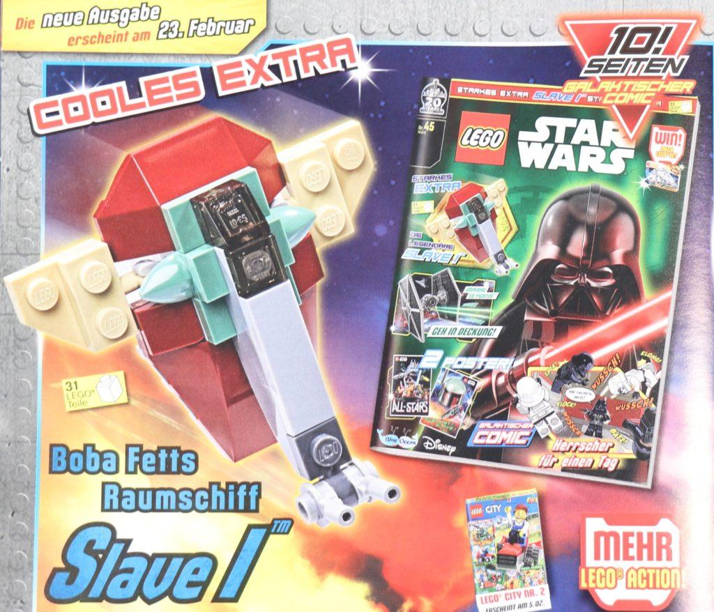 LEGO® Star Wars™ Magazin Nr. 44 - Heftvorschau | ©2019 Brickzeit
