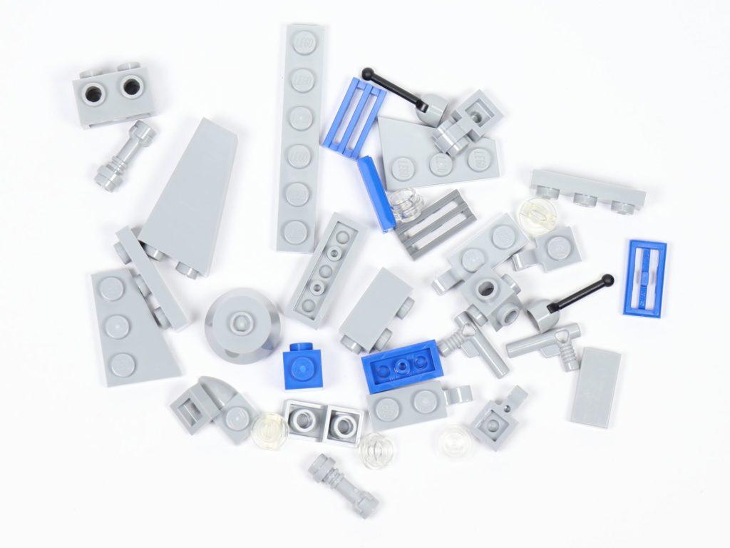 LEGO® Star Wars™ Magazin Nr. 44 - Resistance Bomber, Einzelteile | ©2019 Brickzeit