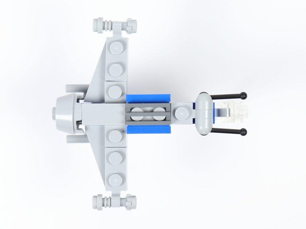 LEGO® Star Wars™ Magazin Nr. 44 - Resistance Bomber, Draufsicht | ©2019 Brickzeit