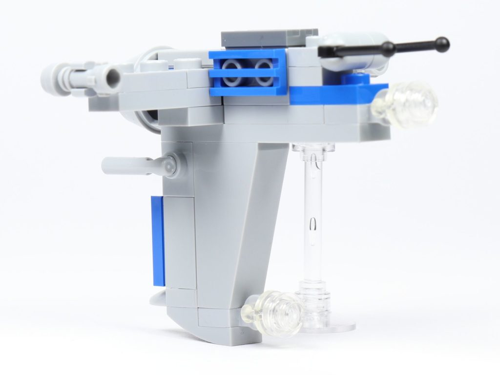 LEGO® Star Wars™ Magazin Nr. 44 - Resistance Bomber, hinten links | ©2019 Brickzeit