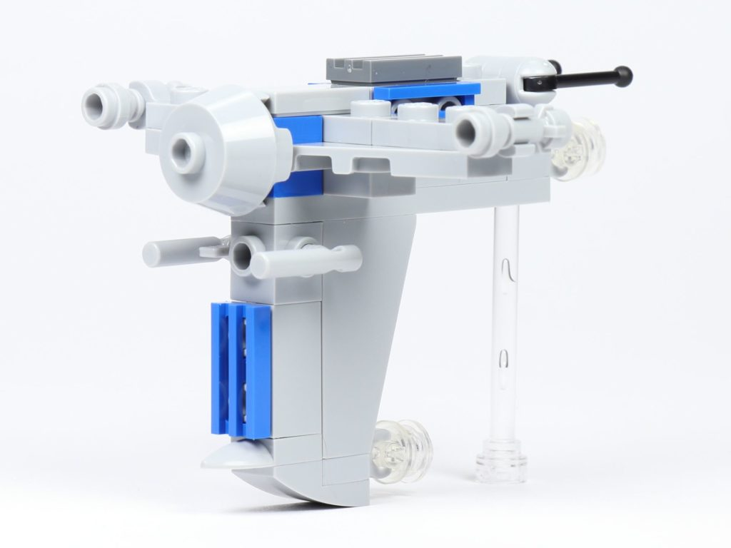 LEGO® Star Wars™ Magazin Nr. 44 - Resistance Bomber, vorne links | ©2019 Brickzeit