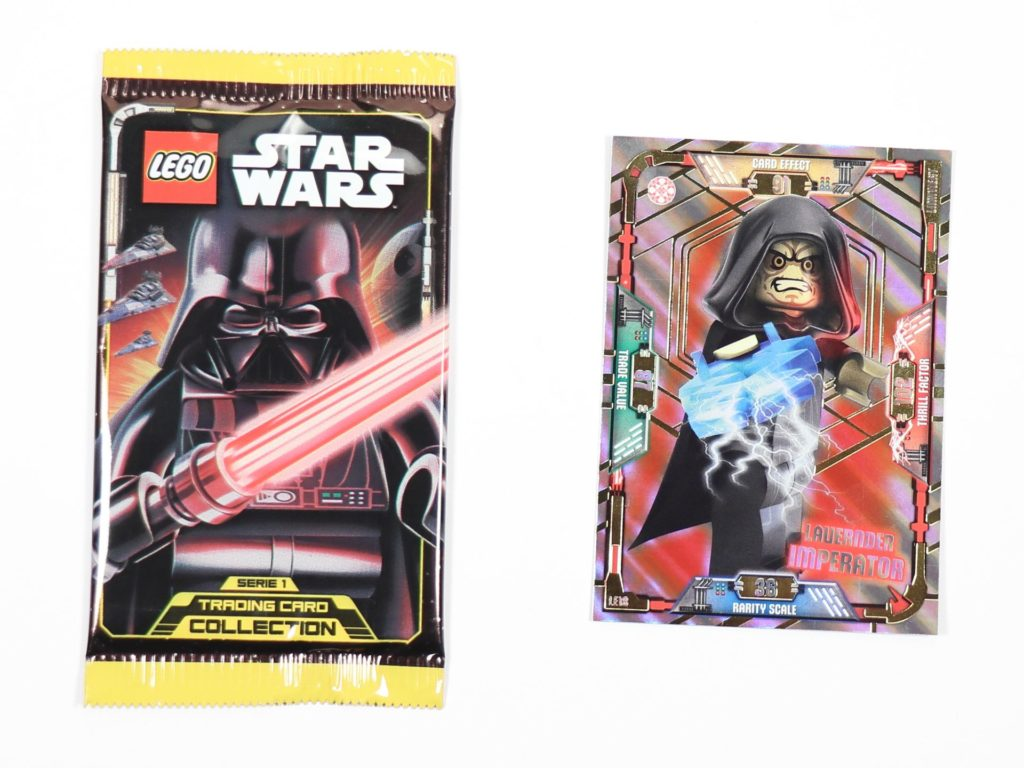 LEGO® Star Wars™ Magazin Nr. 44 - Sammelkarte und Boosterpack | ©2019 Brickzeit