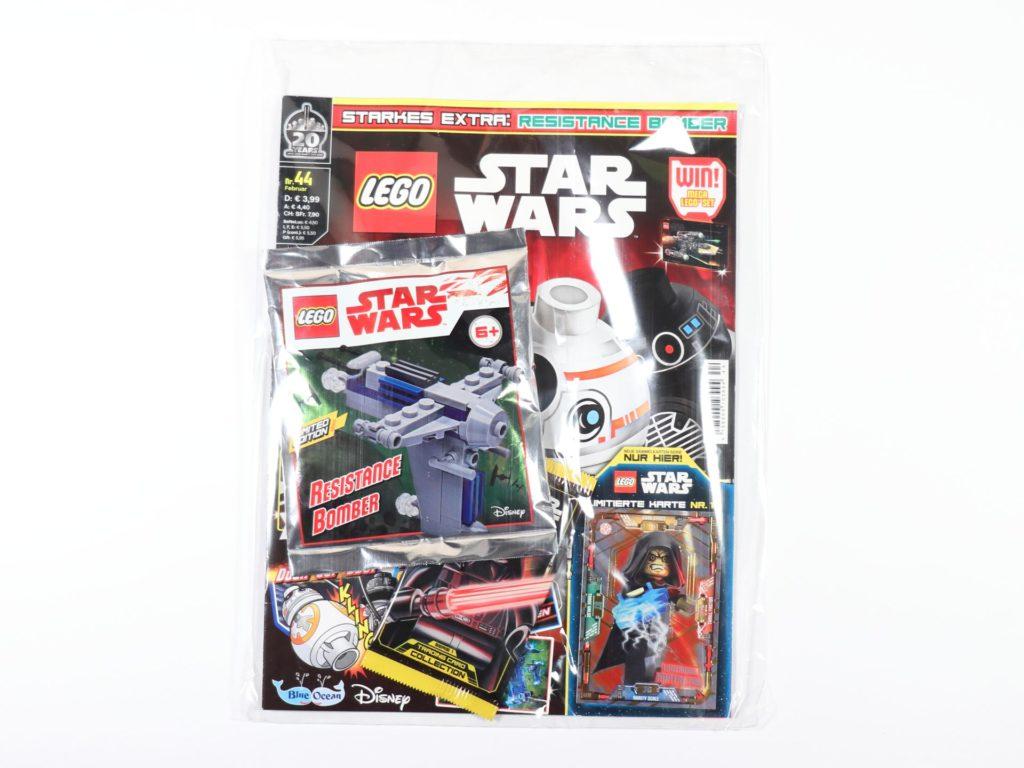 LEGO® Star Wars™ Magazin Nr. 44 (Februar 2019) | ©2019 Brickzeit