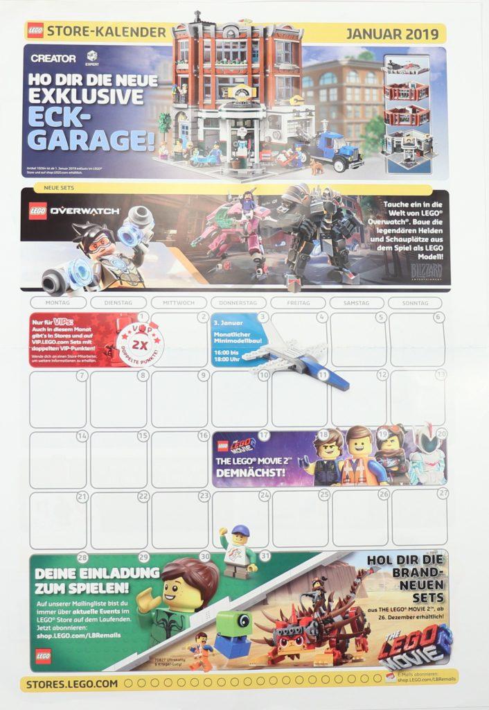 LEGO® Store-Kalender 2019 - Vorderseite