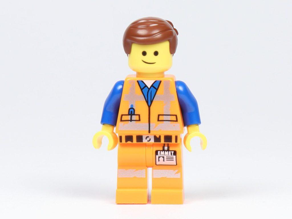 THE LEGO® MOVIE 2 Emmets Herz (30340) - Minifigur von Emmet, Vorderseite | ©2019 Brickzeit