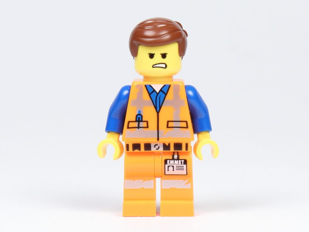 THE LEGO® MOVIE 2 Emmets Herz (30340) - Minifigur von Emmet, Vorderseite 2 | ©2019 Brickzeit