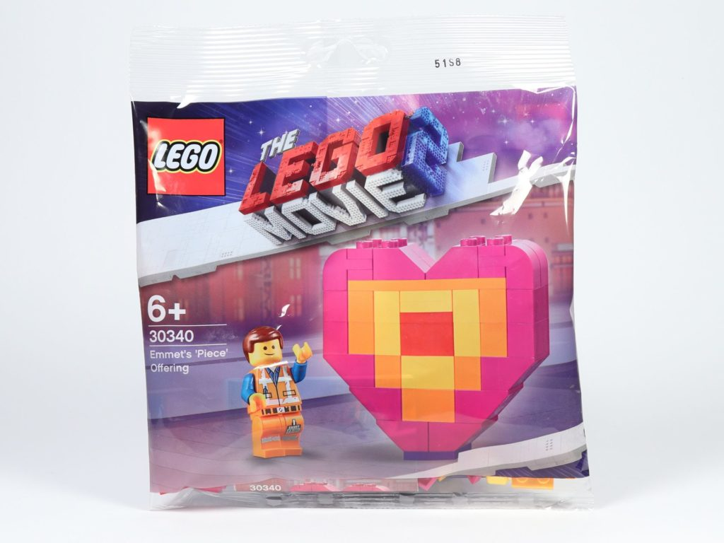 THE LEGO® MOVIE 2 Emmets Herz (30340) - Polybag | ©2019 Brickzeit