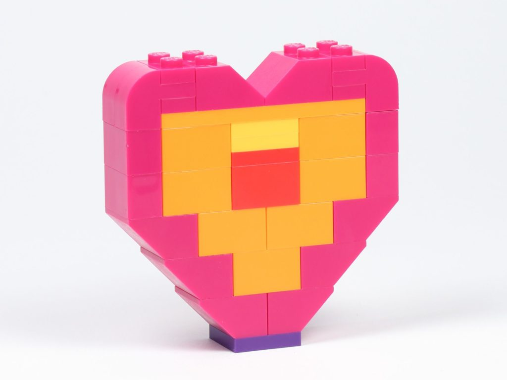 THE LEGO® MOVIE 2 Emmets Herz (30340) - Das Herz, Rückseite | ©2019 Brickzeit