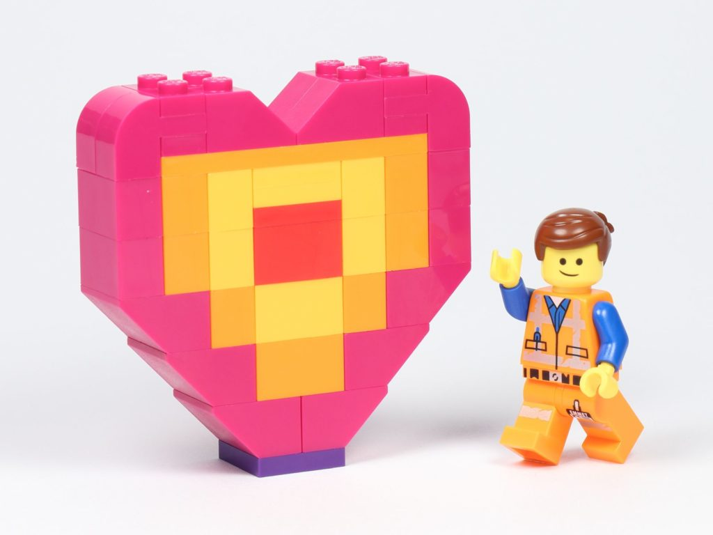 THE LEGO® MOVIE 2 Emmets Herz (30340) - Set   ©2019 Brickzeit