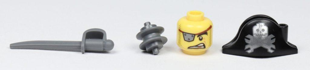 THE LEGO MOVIE 2 Mini-Baumeister Eisenbart (30528) - Spezielle Teile | ©2019 Brickzeit