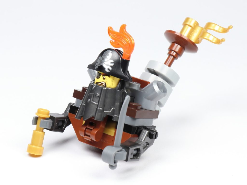 THE LEGO MOVIE 2 Mini-Baumeister Eisenbart (30528) - Spinne, oberes Teil | ©2019 Brickzeit