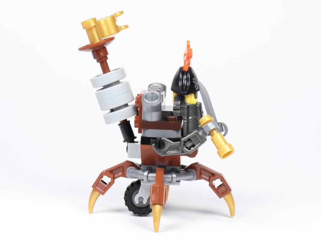 THE LEGO MOVIE 2 Mini-Baumeister Eisenbart (30528) - Spinne, rechte Seite | ©2019 Brickzeit