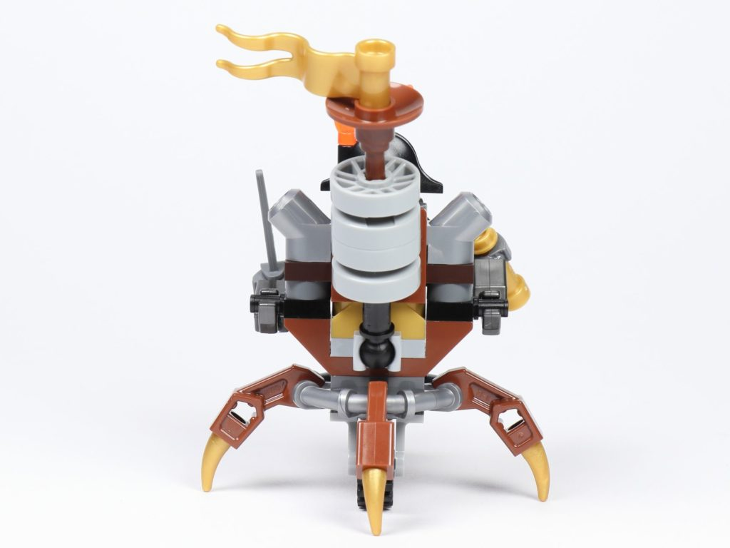 THE LEGO MOVIE 2 Mini-Baumeister Eisenbart (30528) - Spinne, Rückseite | ©2019 Brickzeit