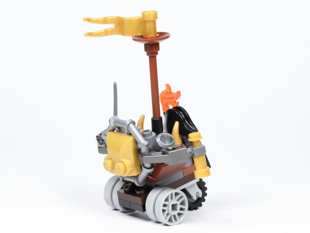 THE LEGO MOVIE 2 Mini-Baumeister Eisenbart (30528) - Trike, hinten rechts | ©2019 Brickzeit