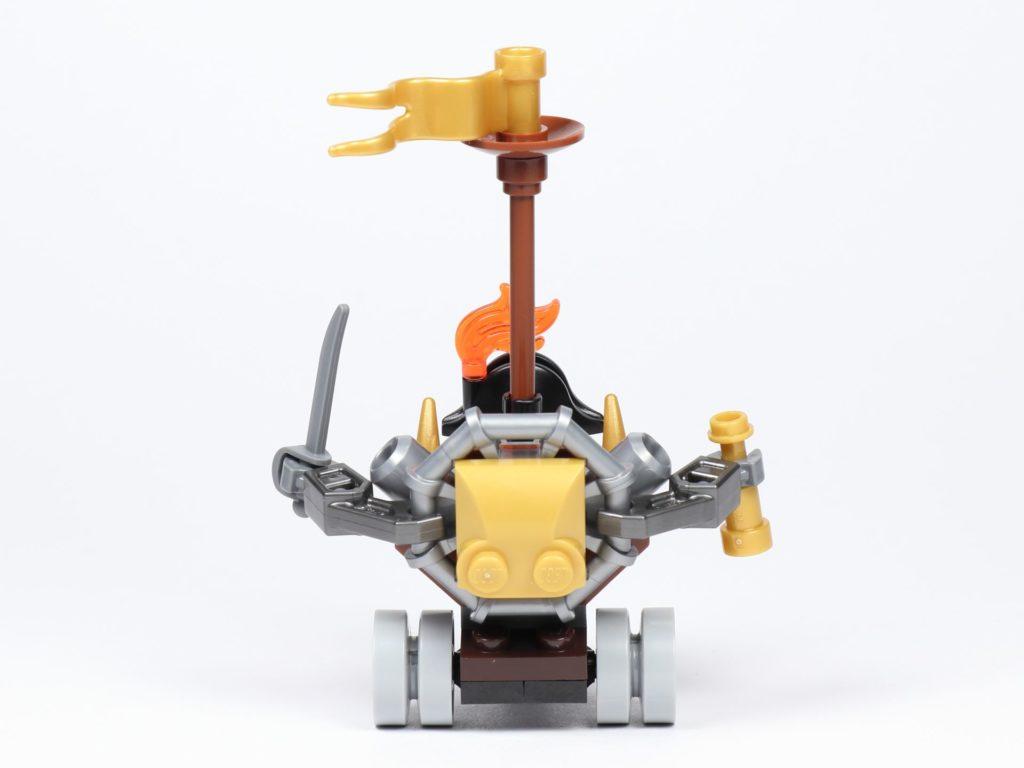 THE LEGO MOVIE 2 Mini-Baumeister Eisenbart (30528) - Trike, Rückseite | ©2019 Brickzeit