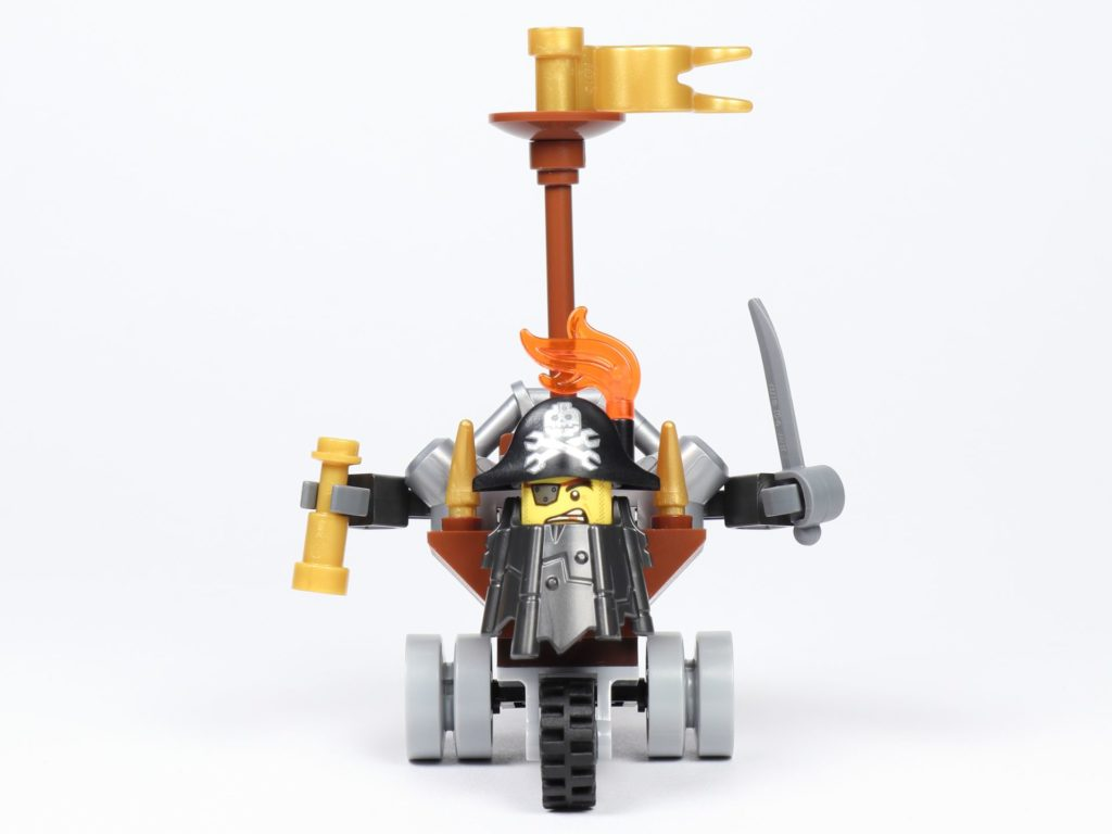THE LEGO MOVIE 2 Mini-Baumeister Eisenbart (30528) - Trike, Vorderseite | ©2019 Brickzeit