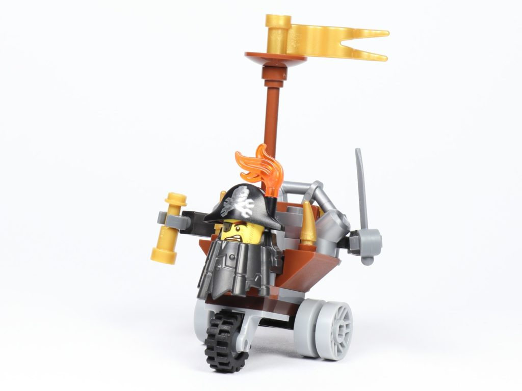 THE LEGO MOVIE 2 Mini-Baumeister Eisenbart (30528) - Trike, vorne links | ©2019 Brickzeit