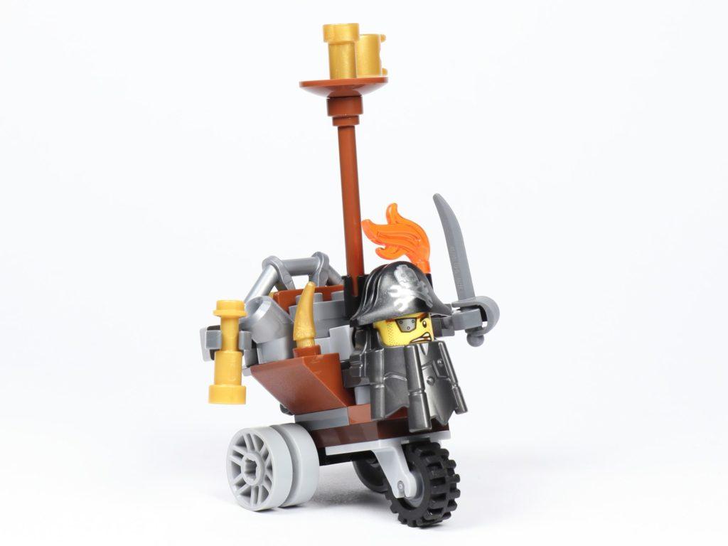 THE LEGO MOVIE 2 Mini-Baumeister Eisenbart (30528) - Trike, vorne rechts | ©2019 Brickzeit