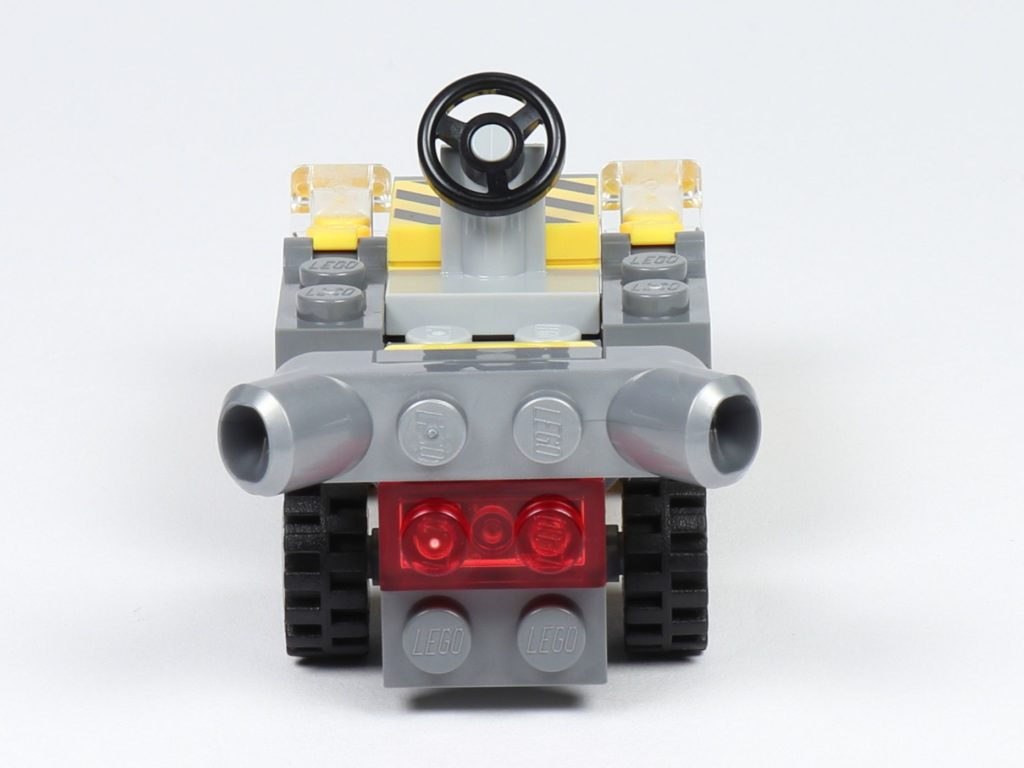 THE LEGO MOVIE 2 Mini-Baumeister Emmet (30529) - Auto, Rückseite | ©2019 Brickzeit