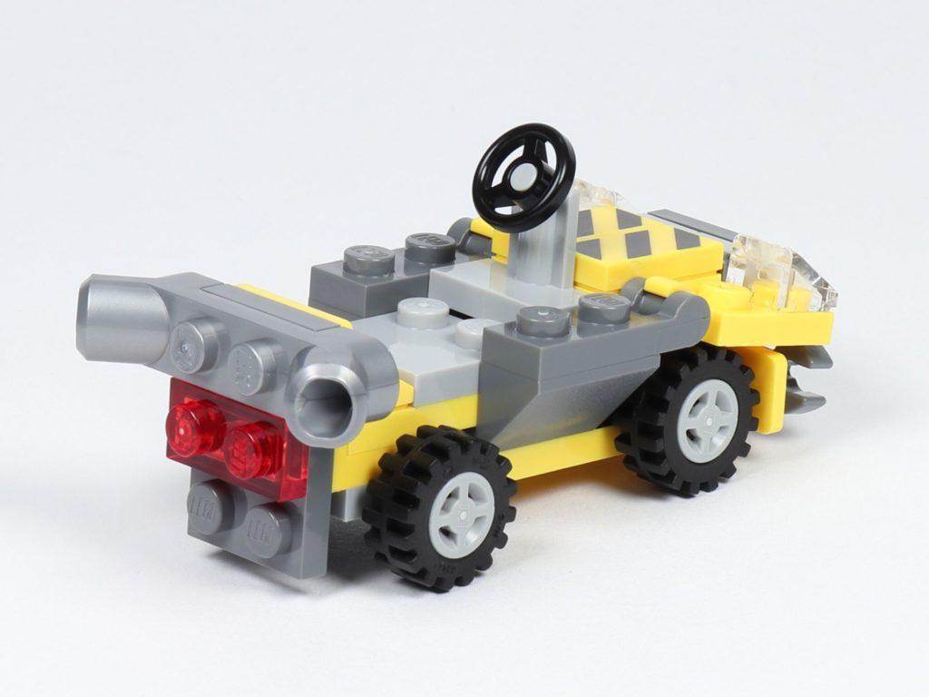 THE LEGO MOVIE 2 Mini-Baumeister Emmet (30529) - Auto, hinten rechts | ©2019 Brickzeit