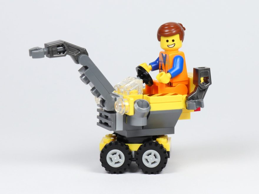 THE LEGO MOVIE 2 Mini-Baumeister Emmet (30529) - Emmet auf Kran | ©2019 Brickzeit