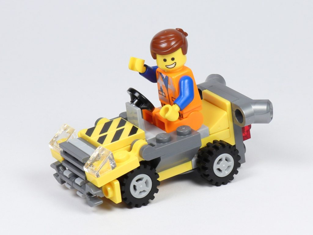 THE LEGO MOVIE 2 Mini-Baumeister Emmet (30529) - Emmet in Auto | ©2019 Brickzeit