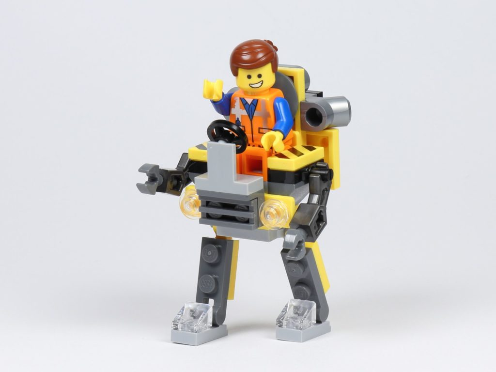 THE LEGO MOVIE 2 Mini-Baumeister Emmet (30529) - Emmet in Roboter | ©2019 Brickzeit