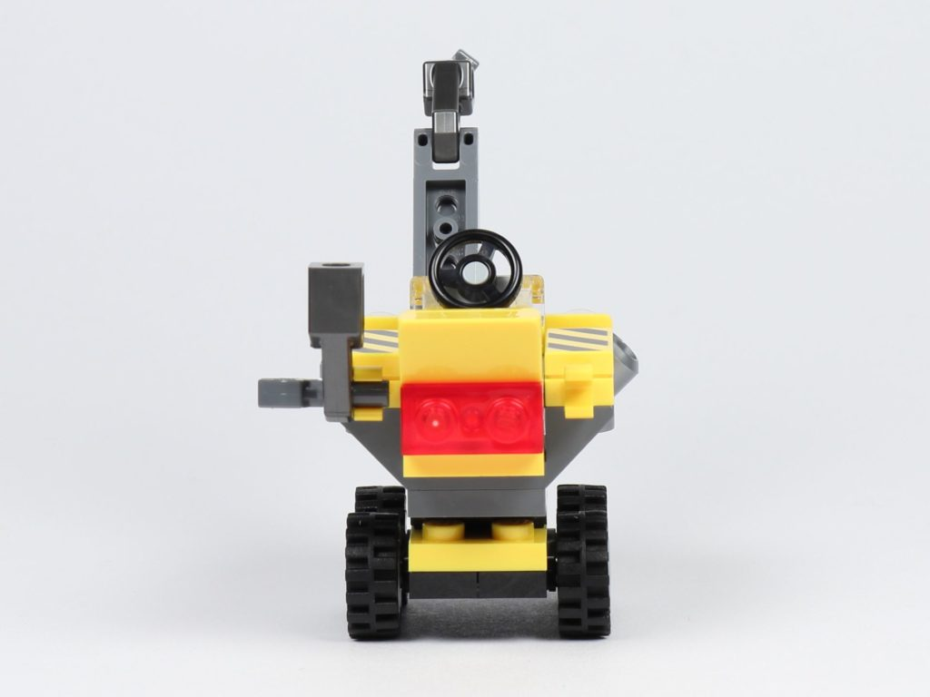 THE LEGO MOVIE 2 Mini-Baumeister Emmet (30529) - Kran, Rückseite | ©2019 Brickzeit