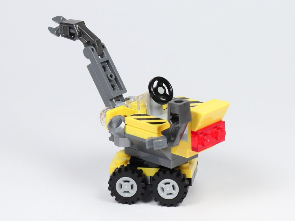 THE LEGO MOVIE 2 Mini-Baumeister Emmet (30529) - Kran, hinten links | ©2019 Brickzeit