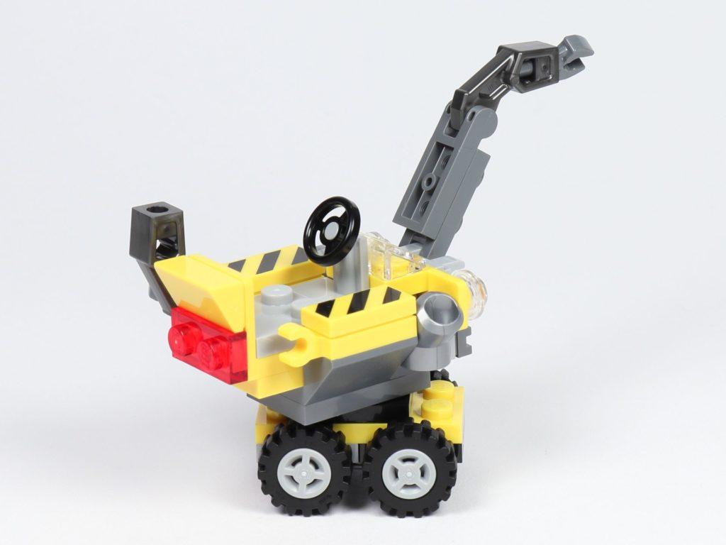 THE LEGO MOVIE 2 Mini-Baumeister Emmet (30529) - Kran, hinten rechts | ©2019 Brickzeit