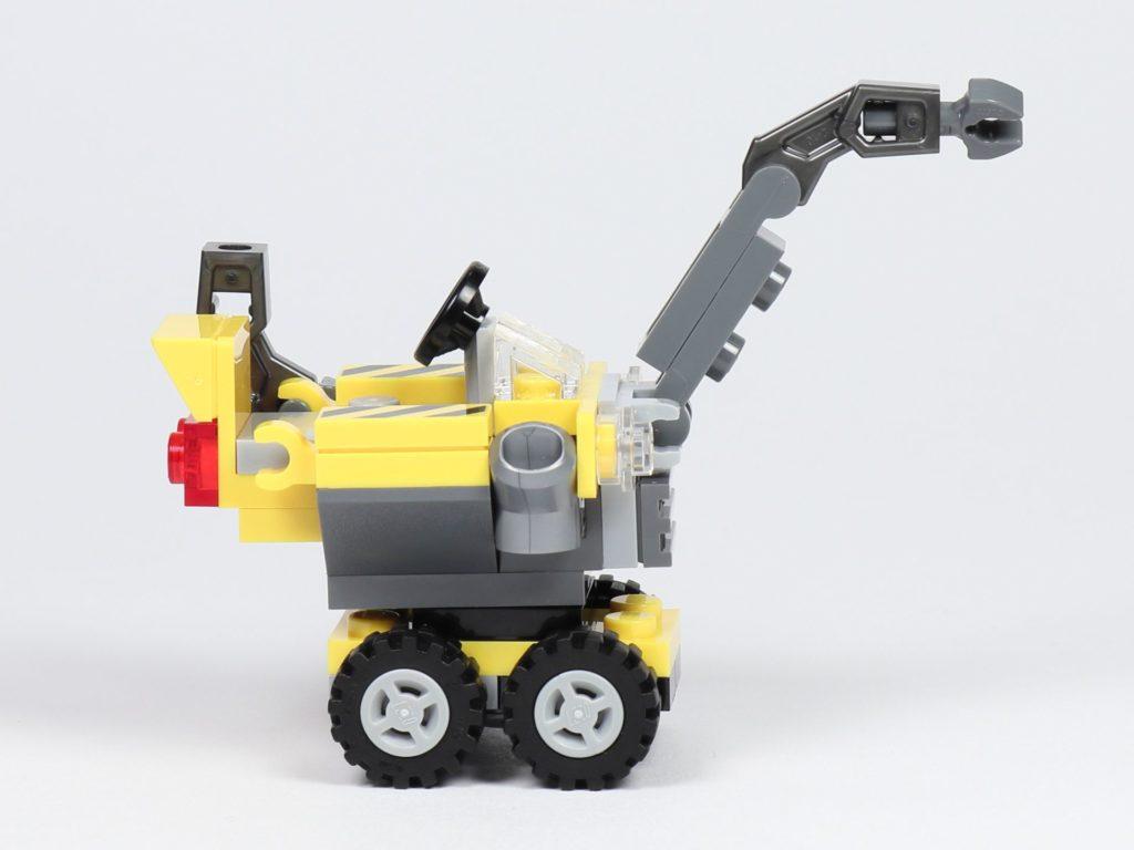 THE LEGO MOVIE 2 Mini-Baumeister Emmet (30529) - Kran, rechte Seite | ©2019 Brickzeit