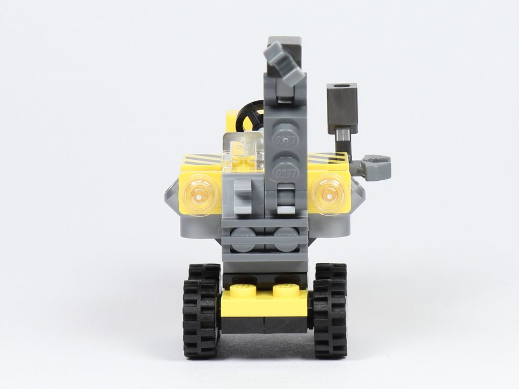 THE LEGO MOVIE 2 Mini-Baumeister Emmet (30529) - Kran, Vorderseite | ©2019 Brickzeit