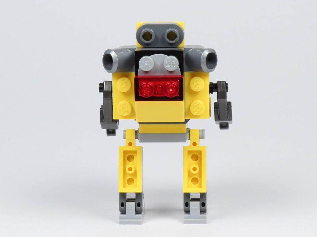THE LEGO MOVIE 2 Mini-Baumeister Emmet (30529) - Roboter, Rückseite | ©2019 Brickzeit