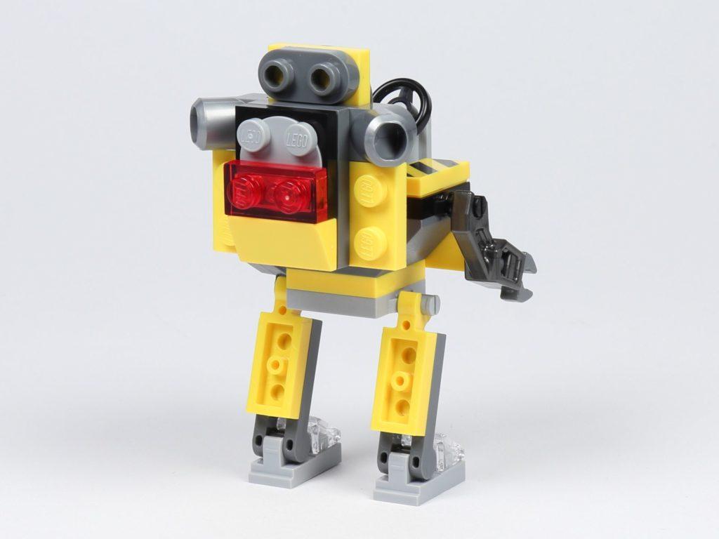 THE LEGO MOVIE 2 Mini-Baumeister Emmet (30529) - Roboter, hinten rechts | ©2019 Brickzeit